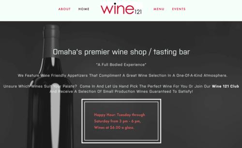 Wine 121 Omaha - Wine Bar and Retail Store