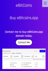 PWA Ebitcoins app