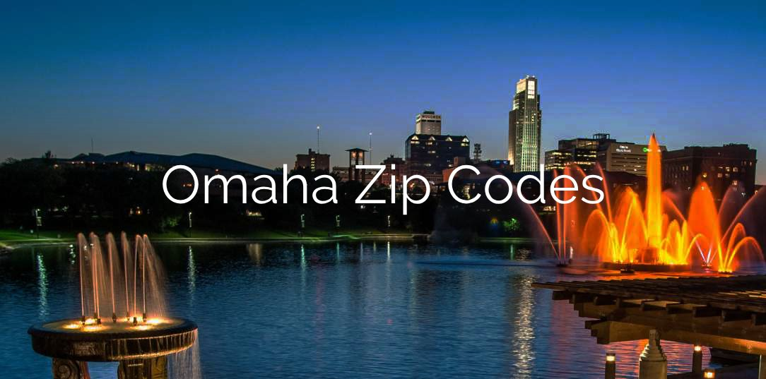 Omaha Zip Code Map